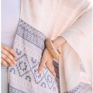 Jewelry - Bamboo & Wood chunky Rattan bracelet